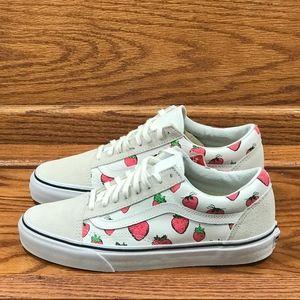 Vans Old Skool Strawberries True White Shoes